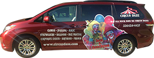 Circus Daze Clown Mobile